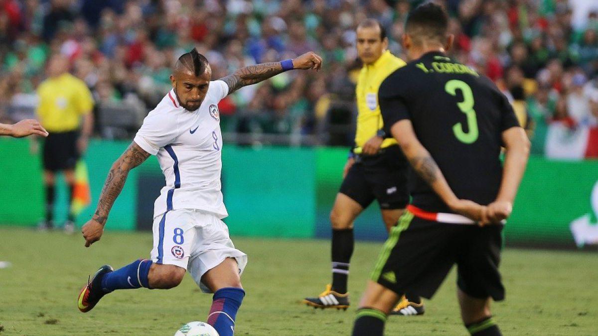 Arturo Vidal y derrota de Chile: Fuimos superiores a México