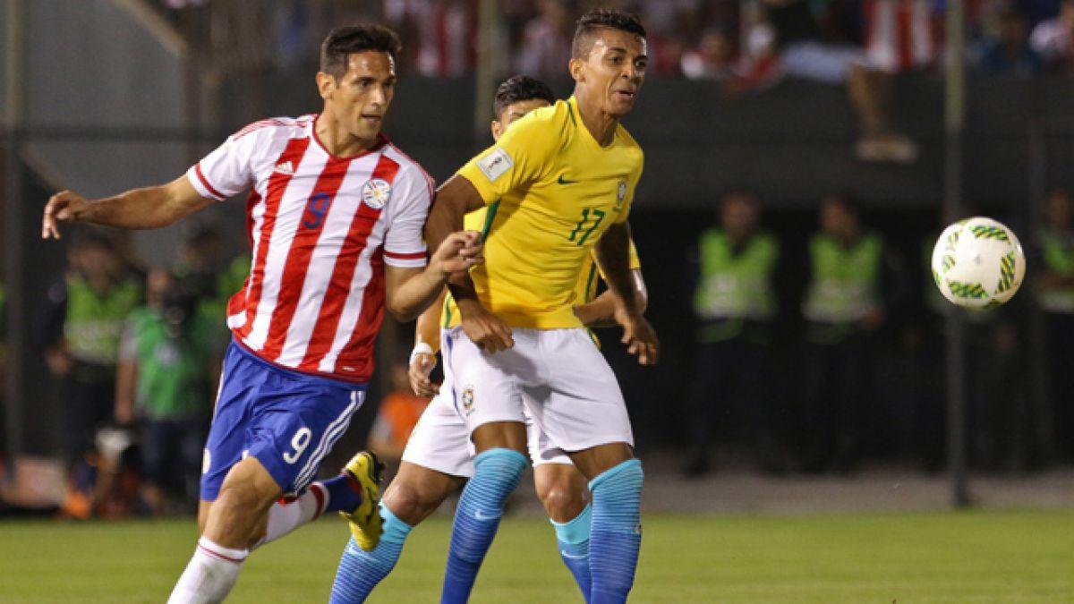 Luiz Gustavo es la nueva baja de Brasil para Copa Centenario y Walace ocupará su lugar