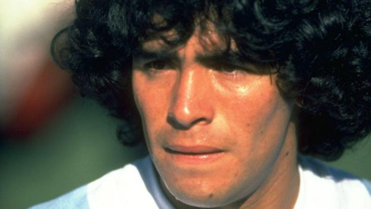 Diego Maradona debutó en la Copa América en 1979.