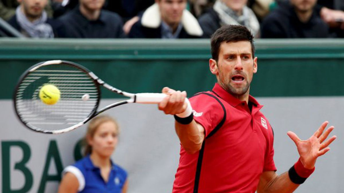 Novak Djokovic alcanza por cuarta vez la final de Roland Garros