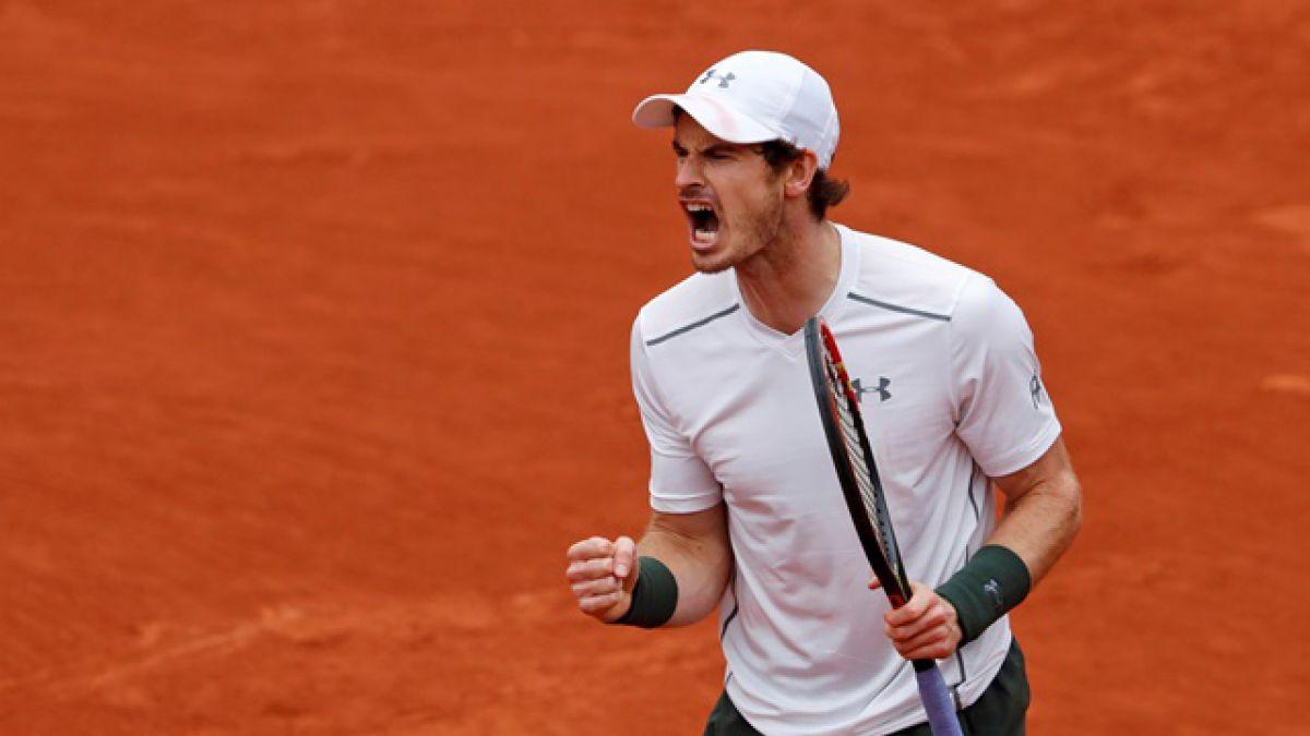 Murray destrona a Wawrinka y disputará con Djokovic la final de Roland Garros