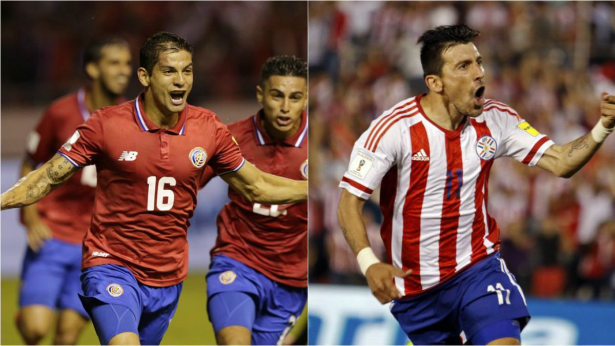 Copa Centenario: Costa Rica y Paraguay animan un partido sin un claro favorito en el Grupo A