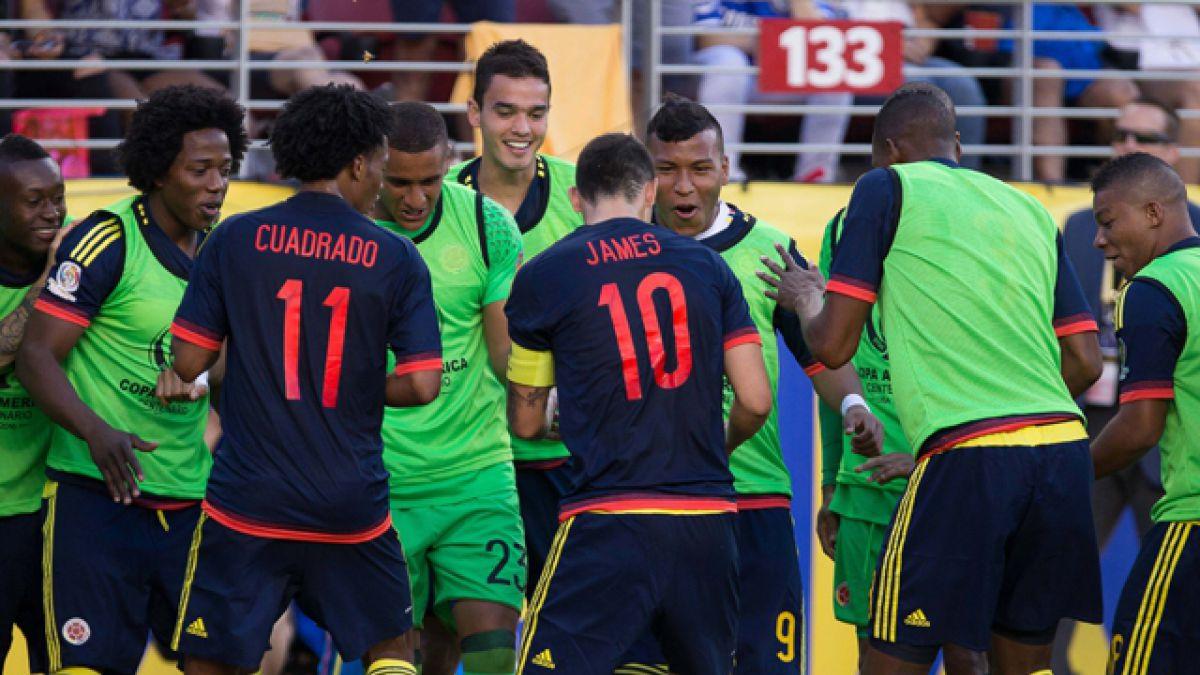 Colombia golpea al anfitrión y arranca con una victoria en la Copa Centenario