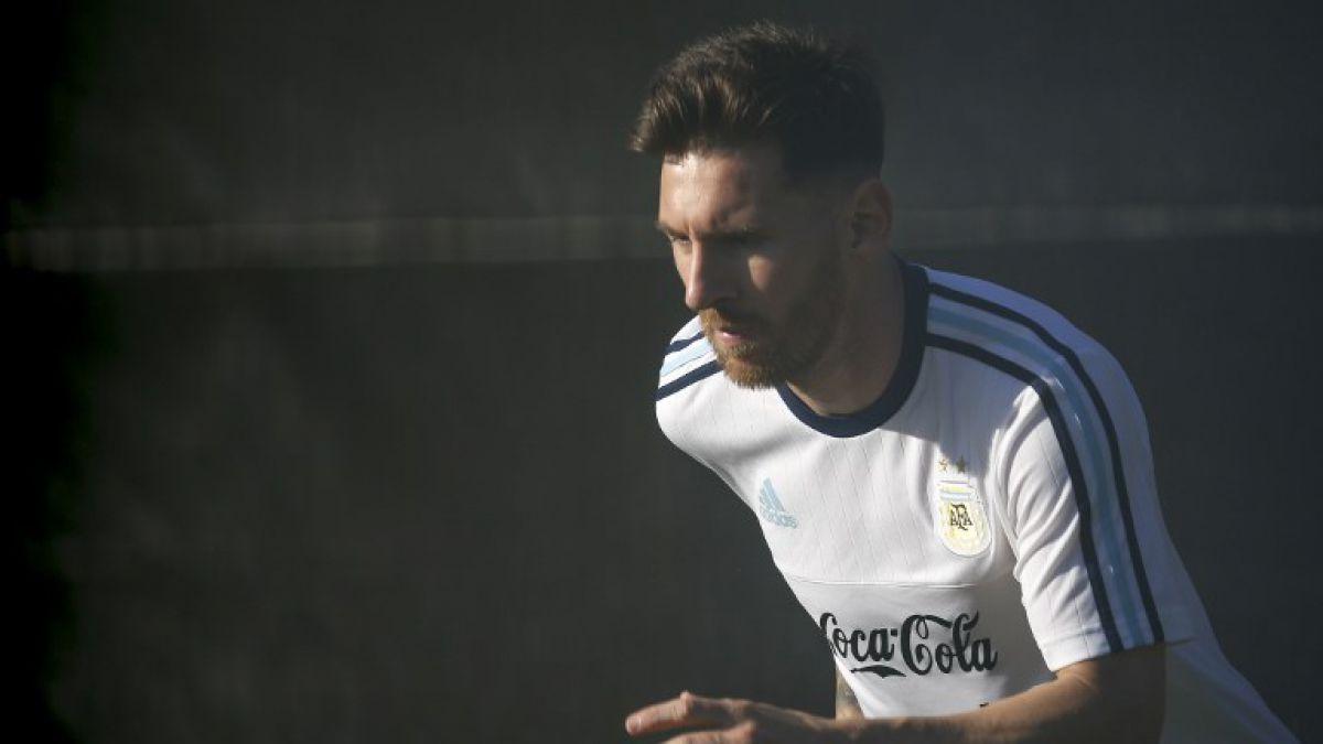 Lionel Messi prácticamente descartado para debut ante La Roja
