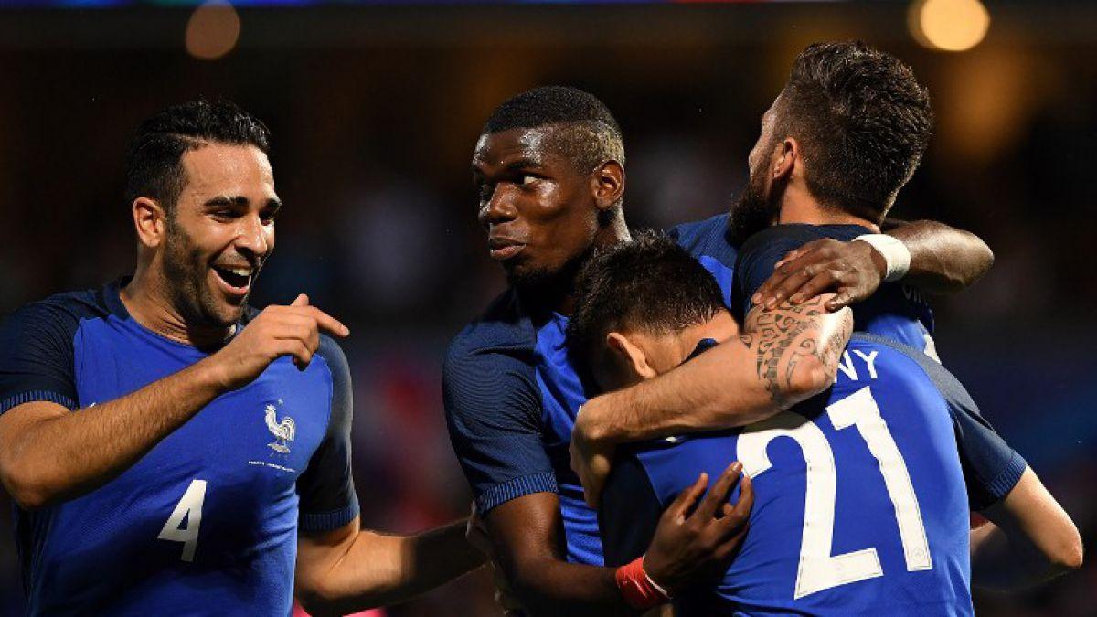 Triunfo de Francia y goleada por 10-0 de Croacia destacan en amistosos previos a la Eurocopa