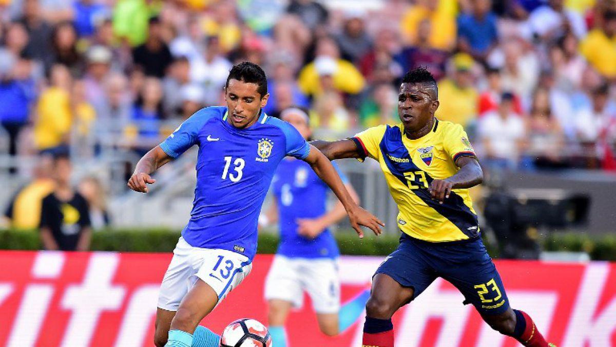 [Minuto a Minuto] Brasil y Ecuador animan el partido de la fecha en la Copa América Centenario