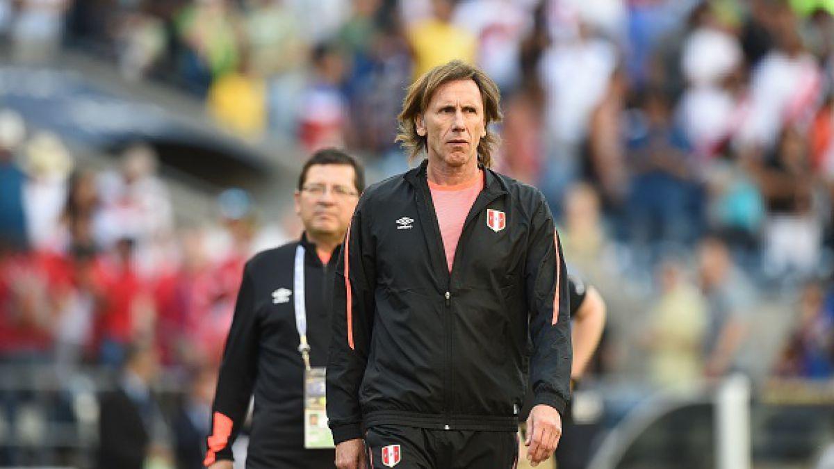 """Técnico Ricardo Gareca tras triunfo ante Haití: """"Perú ganó merecidamente el partido"""""""