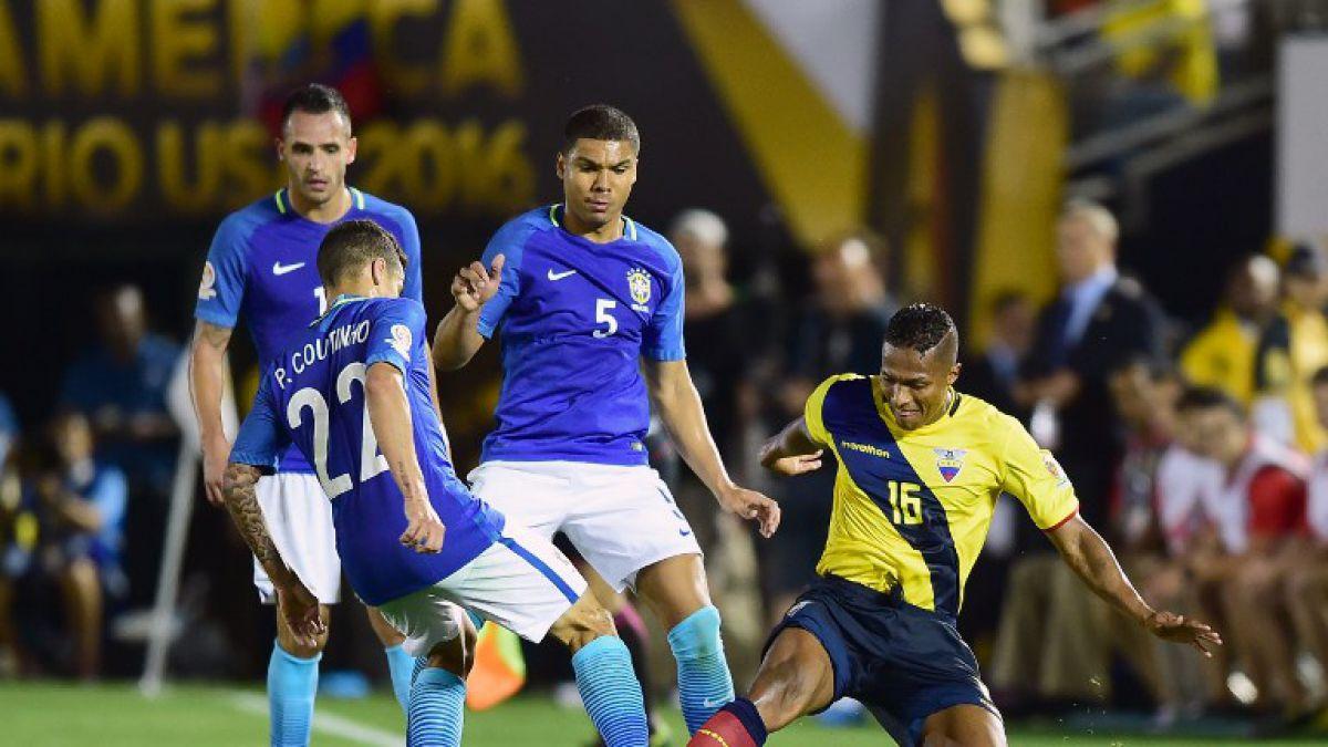 Brasil y Ecuador no se hicieron daño en su estreno en la Copa América Centenario