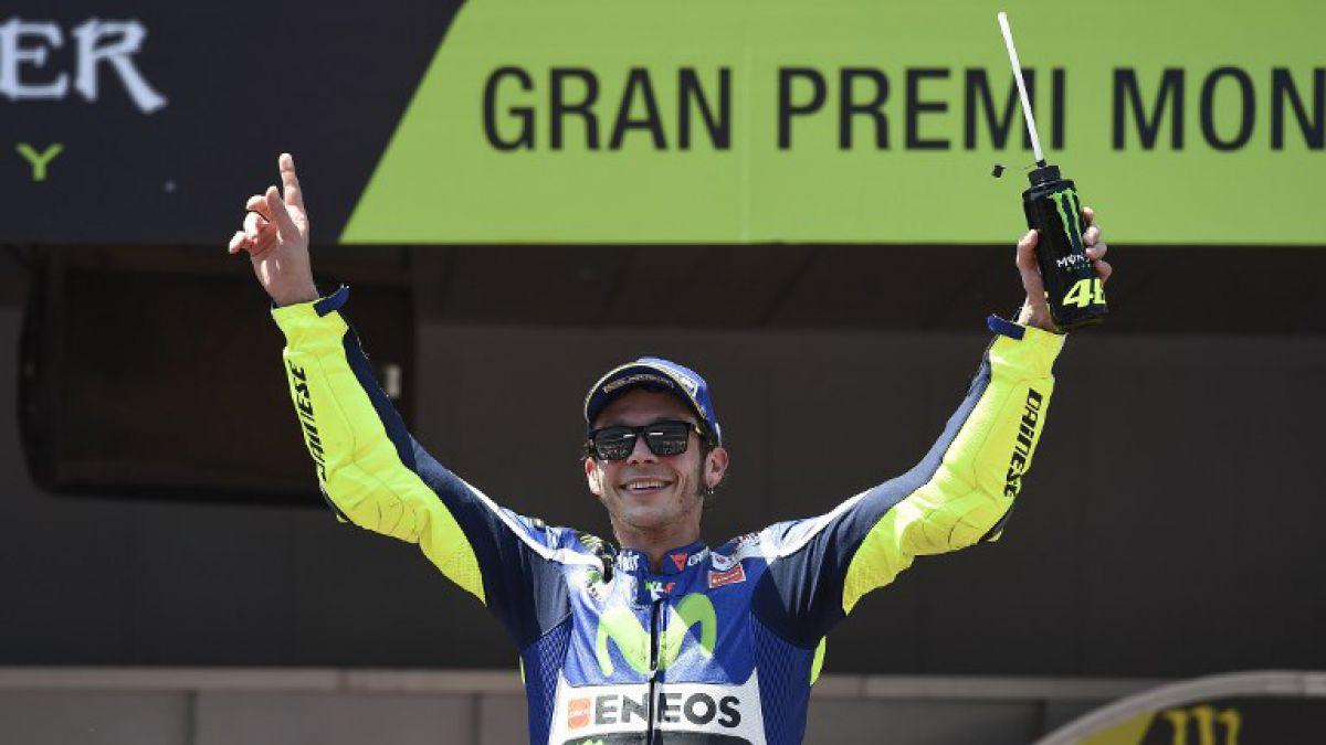 MotoGP: Rossi vuelve a ganar en España y Márquez es líder del Mundial