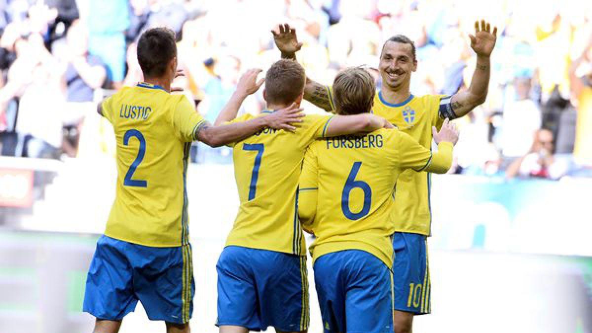 Suecia derrota con autoridad a Gales en partido de preparación para la Eurocopa 2016