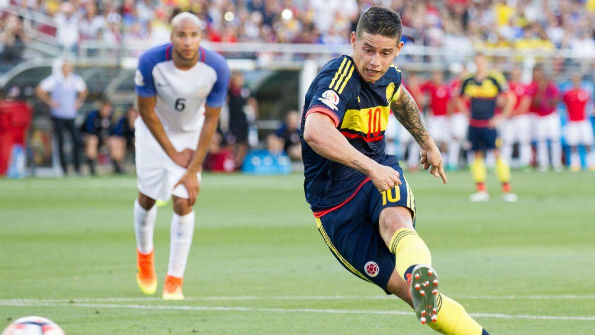 La incertidumbre en torno a James Rodríguez tiene en vilo a la selección de Colombia