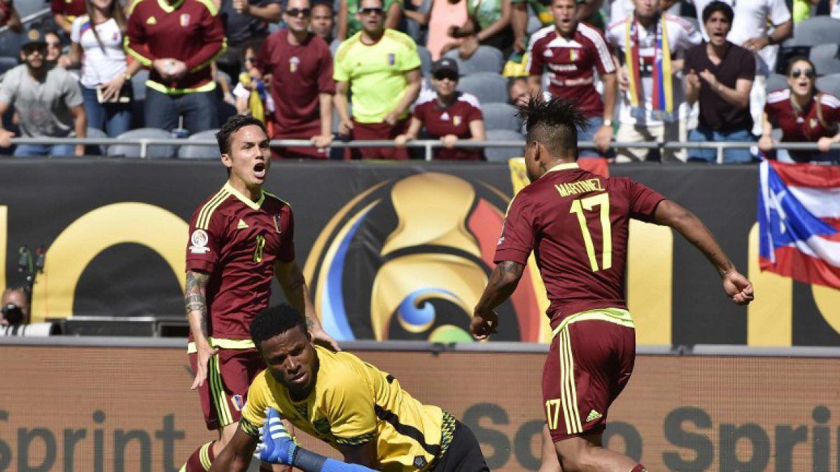 [Minuto a Minuto] Venezuela saca ventajas sobre Jamaica en Copa América Centenario