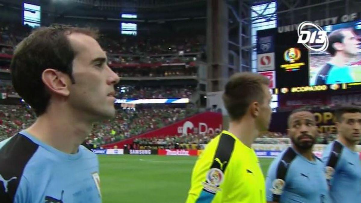 Organización de Copa América Centenario se disculpa con Uruguay por error en el himno