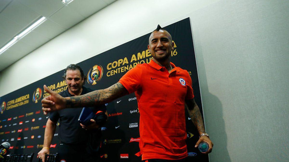 Arturo Vidal de cara al debut con Argentina: Somos uno de los tres favoritos de esta copa