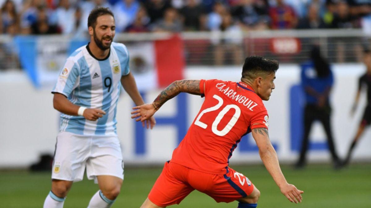 Los números del Argentina - Chile