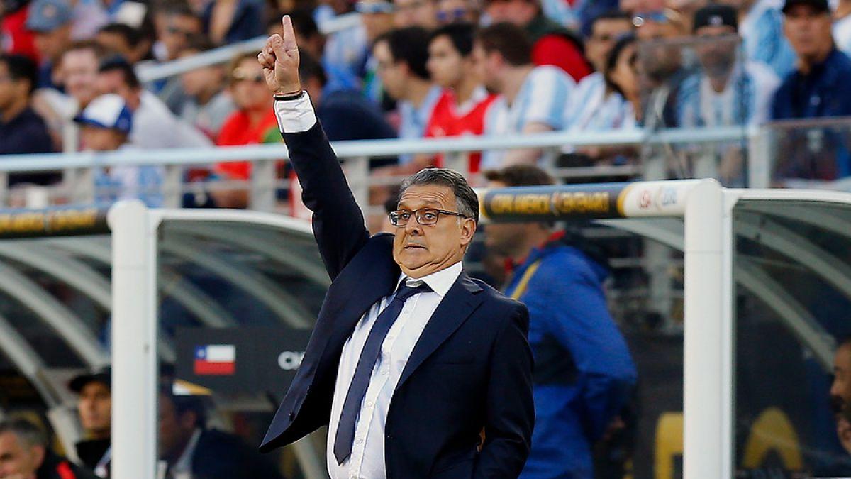 [VIDEO] El taco con que se lució Gerardo Martino en el partido ante Chile
