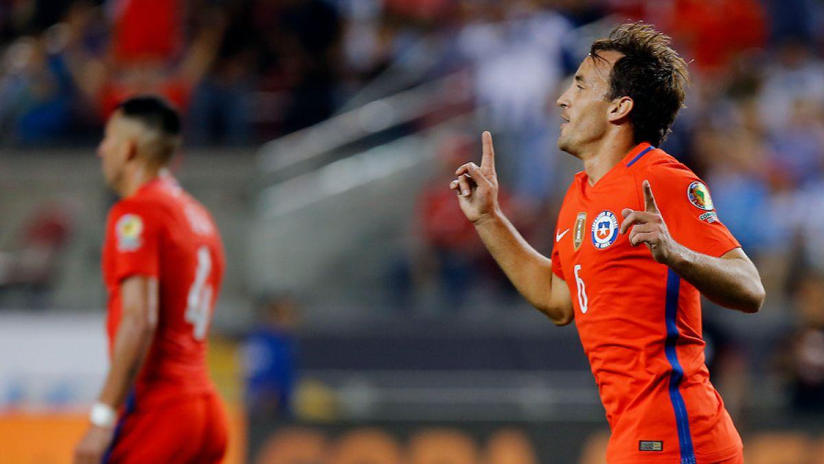 Gol de Fuenzalida rompió maleficio de Chile que databa desde 1959