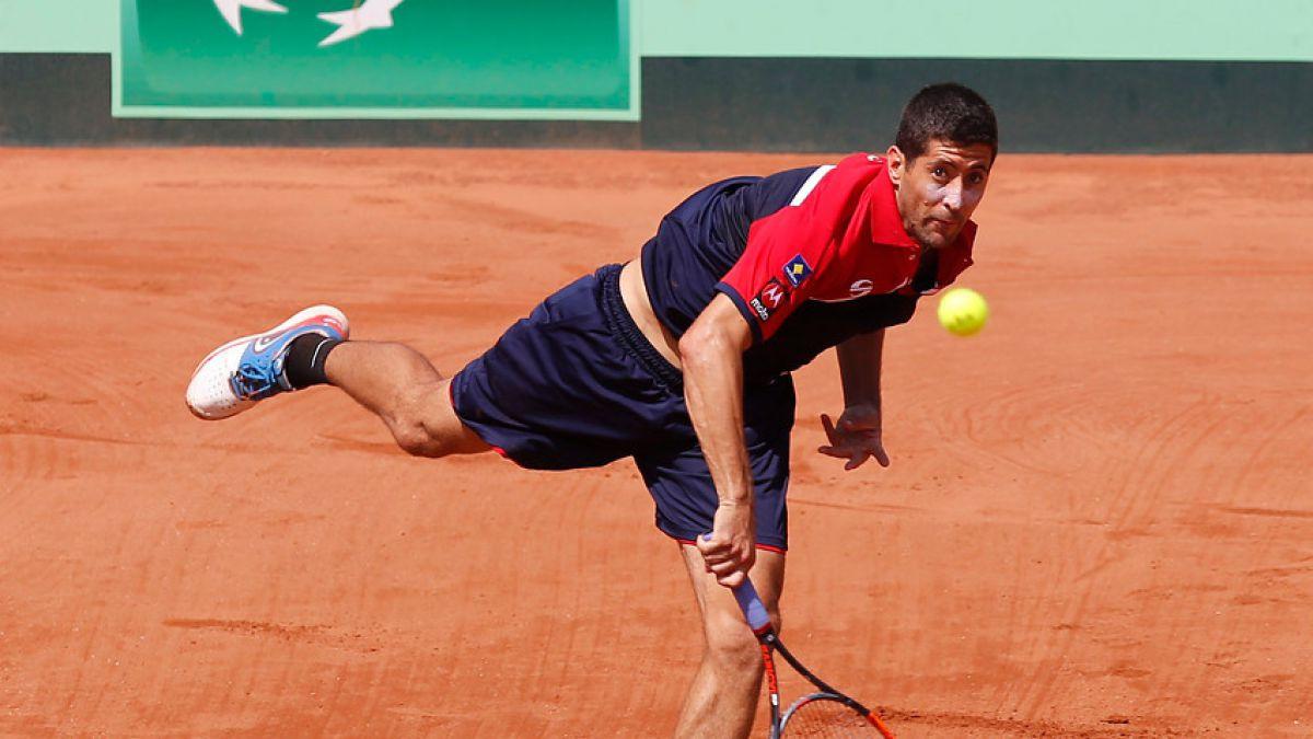 Hans Podlipnik sufrió para vencer en República Checa a jugador sin ránking