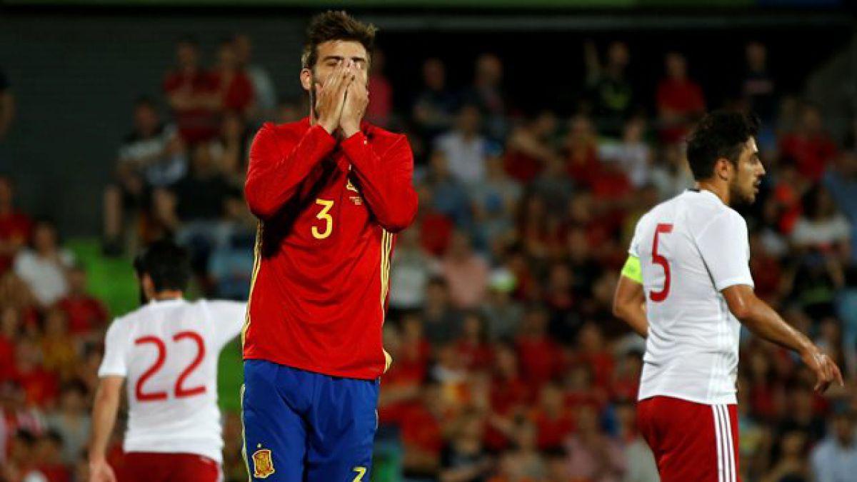 España deja dudas para la Eurocopa tras caer sorpresivamente con Georgia