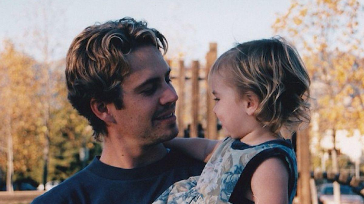 Resultado de imagen para paul walker y su hija