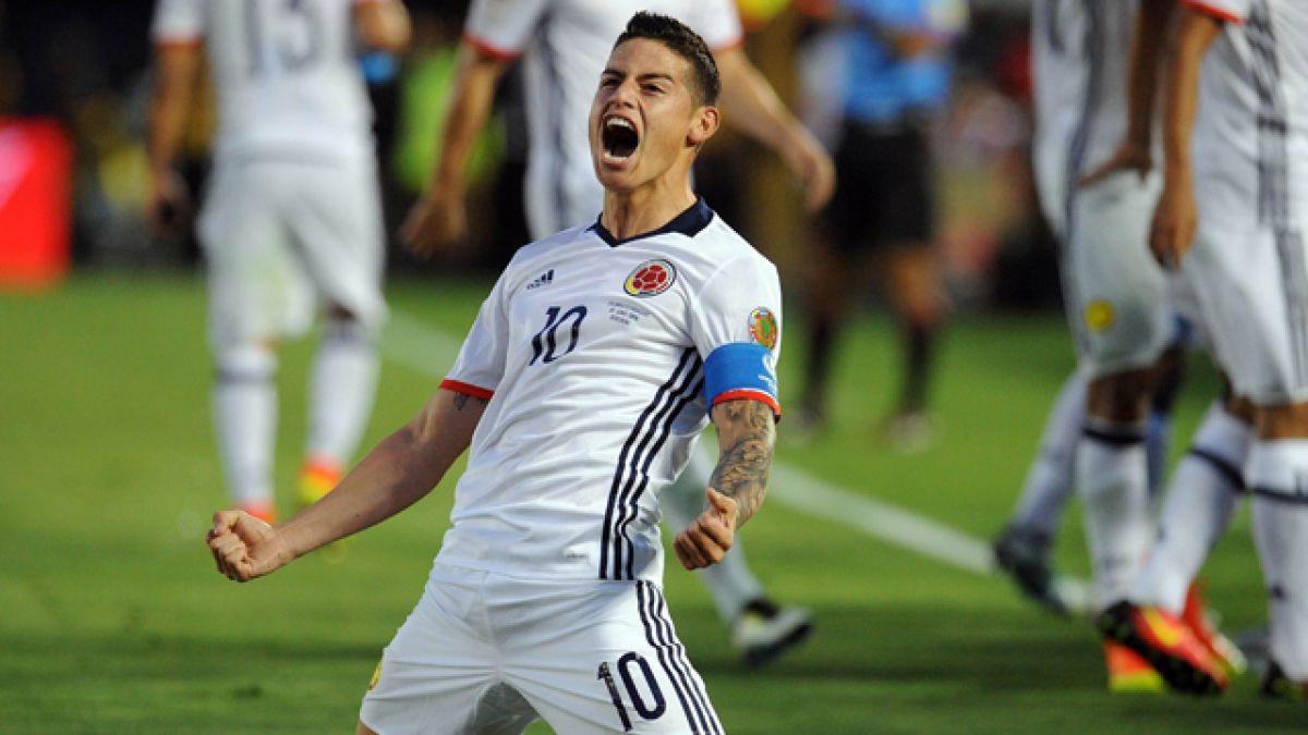 Colombia vence a Paraguay y es el primer clasificado a los cuartos de la Copa Centenario