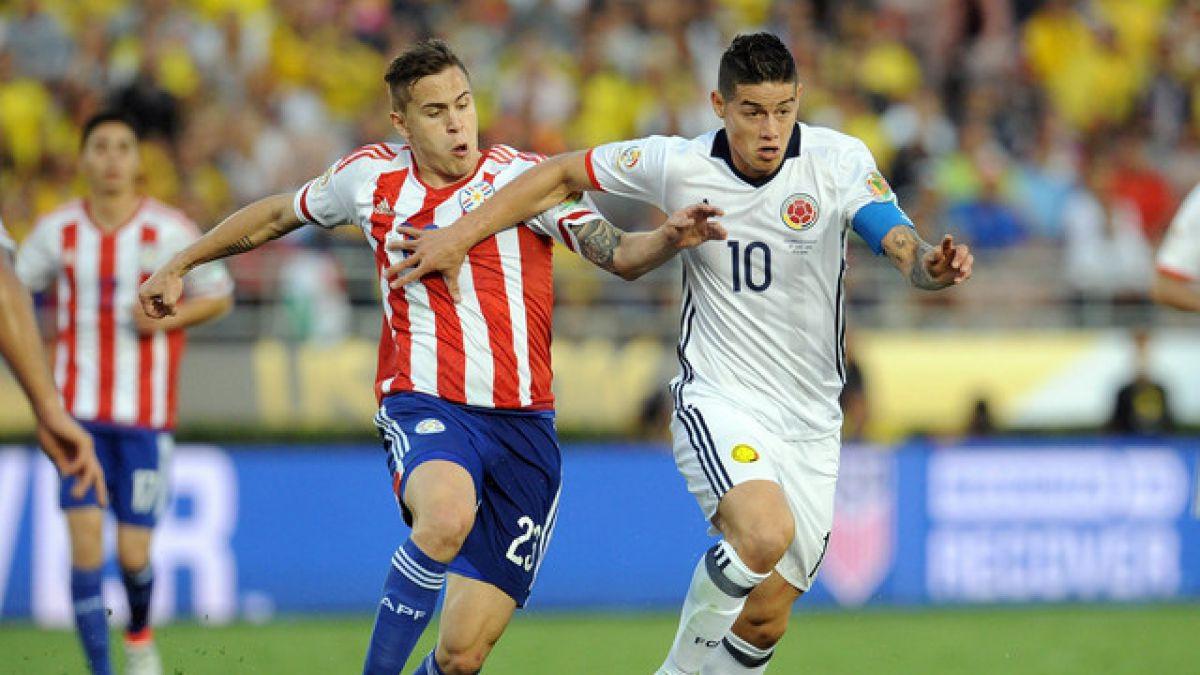 [VIDEO] Revive los goles del partido Colombia-Paraguay en la Copa América Centenario