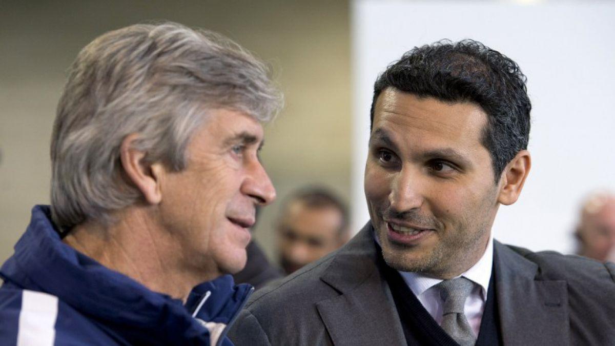 Dueño del Manchester City critica a Pellegrini: No podemos ocultar la decepción