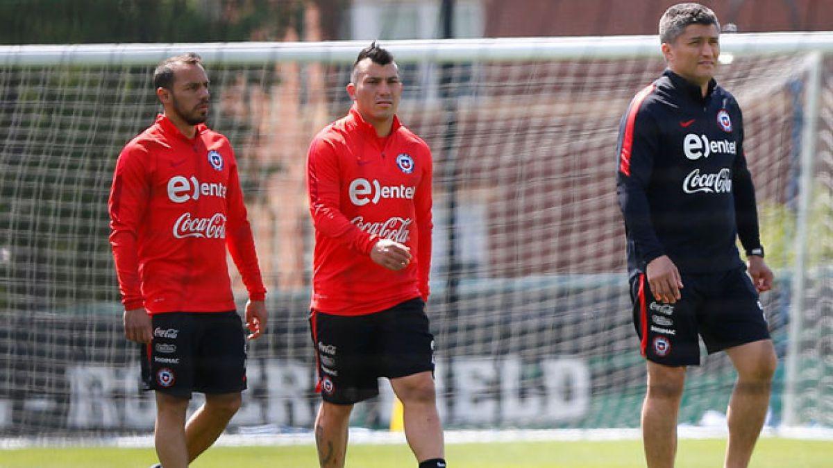 """""""La Roja"""" ya prepara el duelo ante Bolivia con trabajo diferenciado de Vidal, Medel y Díaz"""