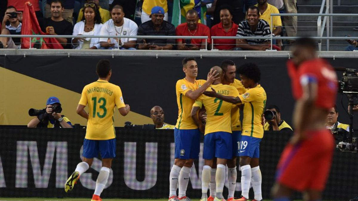[Minuto a Minuto] Brasil está goleando a Haití en Copa América Centenario