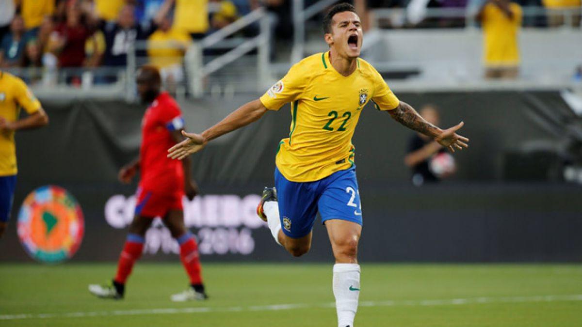 Brasil se levanta tras empate en el debut y golea a Haití en la Copa Centenario