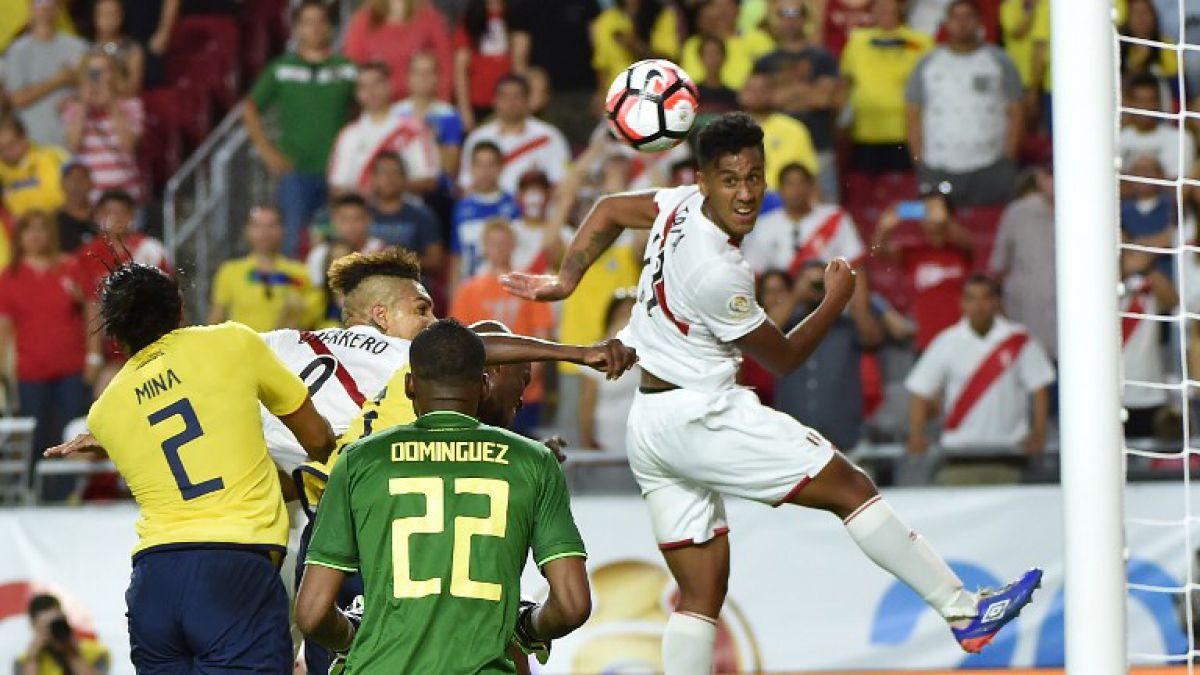 [VIDEO] Revive los goles del partido Ecuador-Perú en la Copa América Centenario