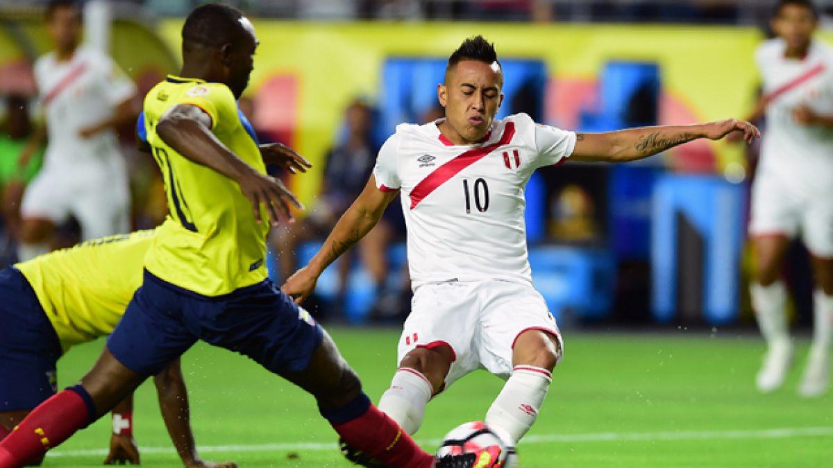 [Minuto a Minuto] Perú iguala ante Ecuador en la Copa Centenario