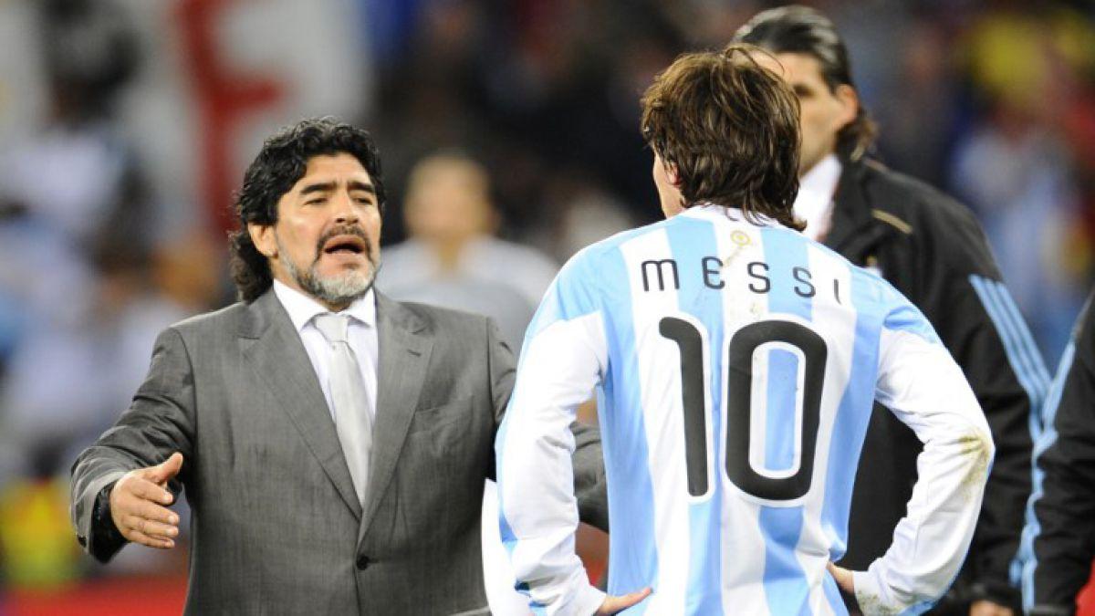 Maradona recuerda título de 1986: No fuimos a jugar con Chile, le ganamos a Alemania