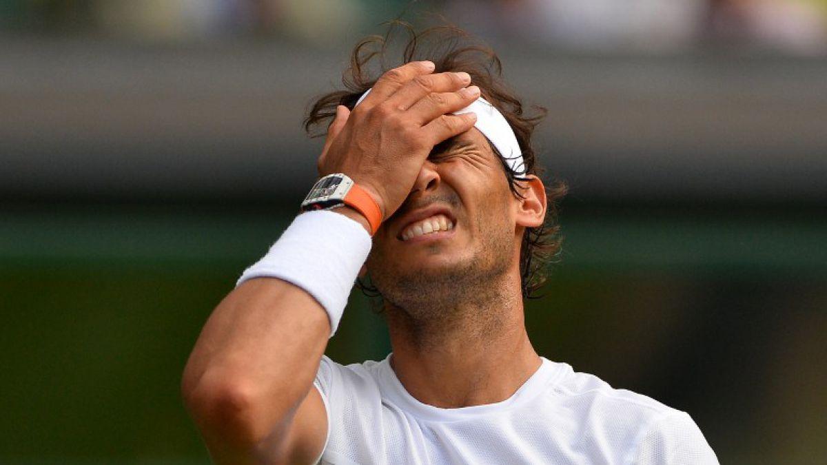 Lesión complica a Rafael Nadal para los Juegos Olímpicos de Río 2016