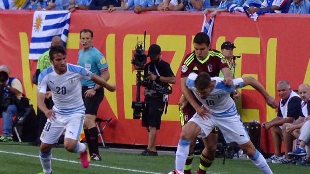 [Minuto a Minuto] Copa Centenario: Uruguay está cayendo con Venezuela en Filadelfia