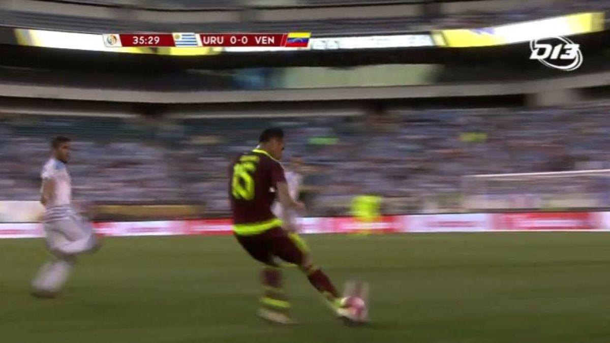 [VIDEO] Revive el gol del partido Uruguay-Venezuela en la Copa América Centenario