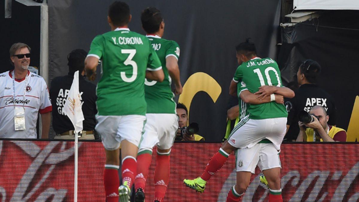 México vence a Jamaica y sella su clasificación a cuartos de la Copa Centenario junto a Venezuela