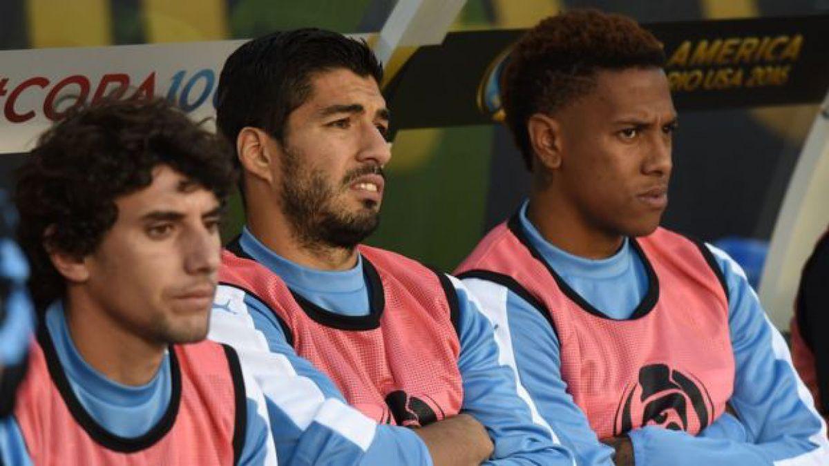La furia de Luis Suárez en la noche en la que Venezuela derrotó a Uruguay en todos los aspectos