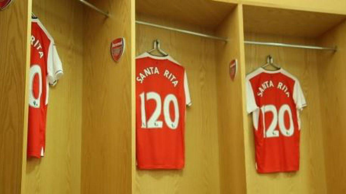 Arsenal sella acuerdo con Viña Santa Rita para que sea auspiciador del club