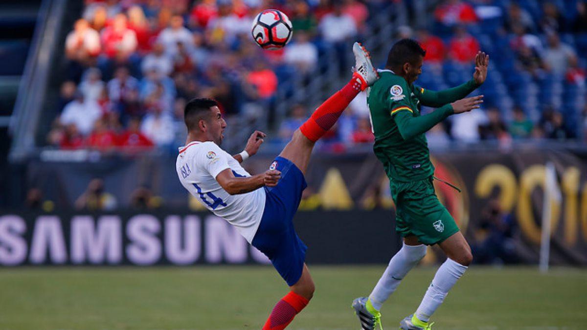 """[Minuto a Minuto] """"La Roja"""" está igualando ante Bolivia en la Copa América Centenario"""