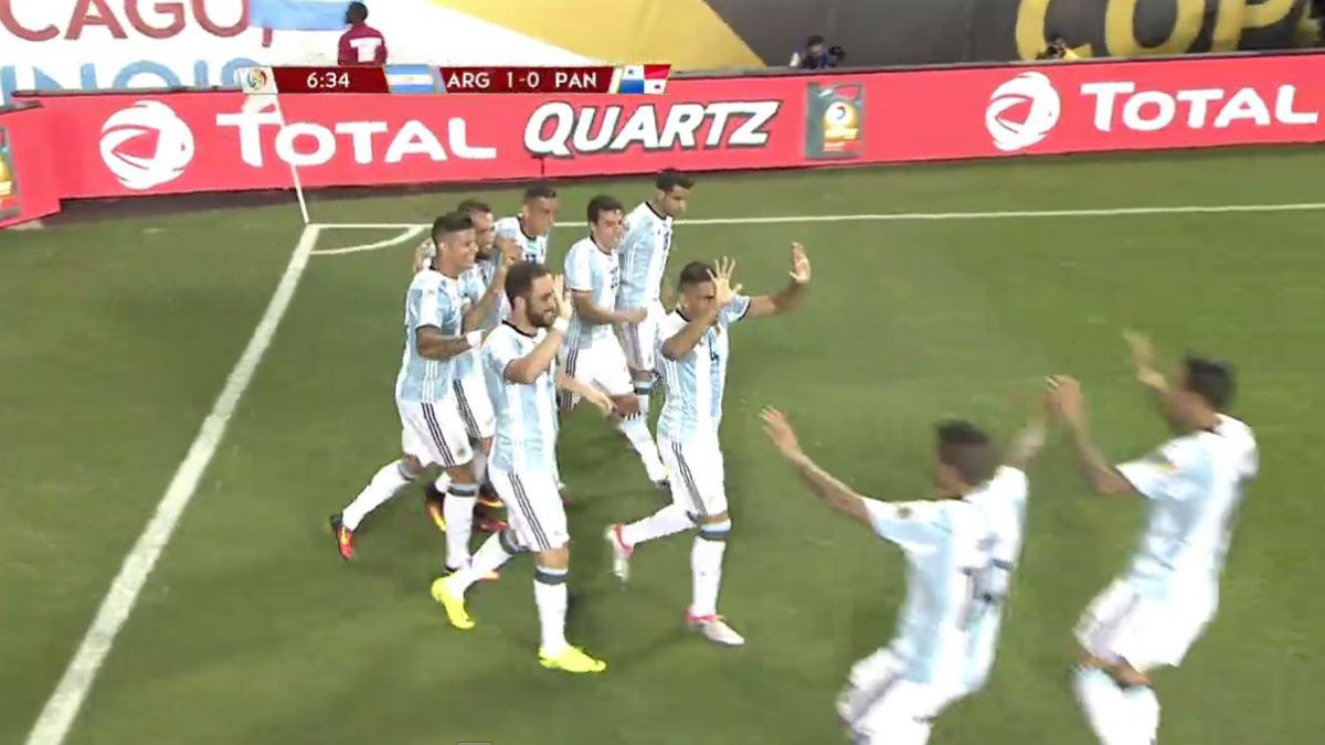 [VIDEO] Revive los goles del partido Argentina-Panamá en la Copa América Centenario