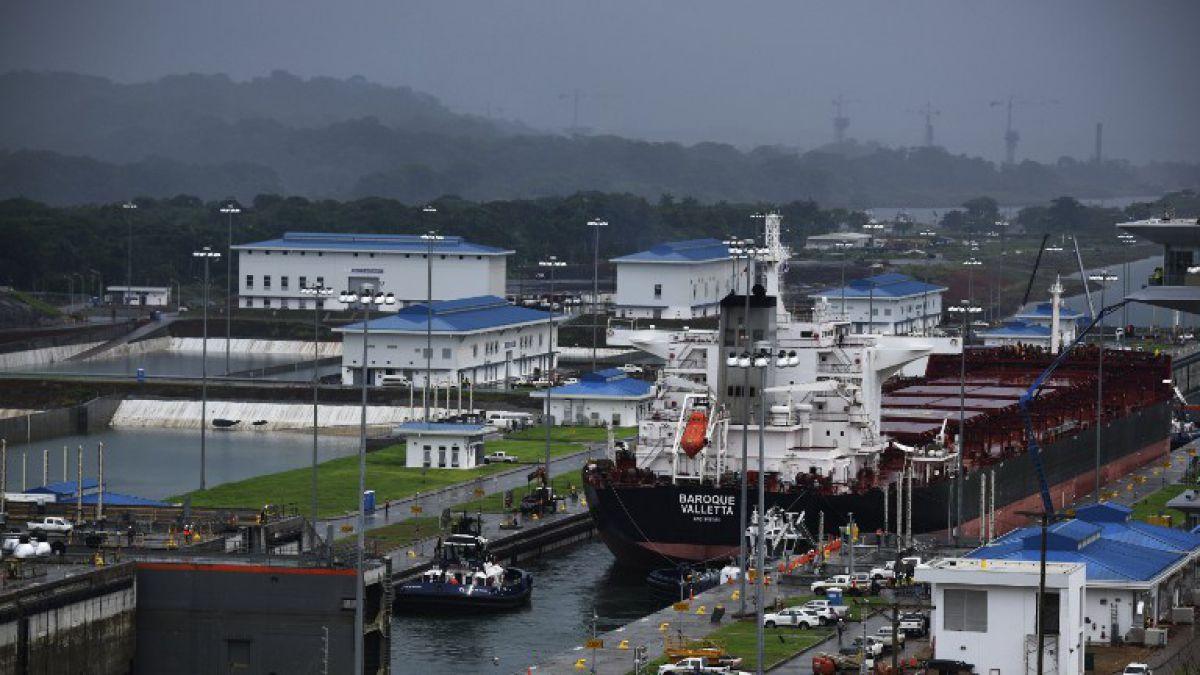 Caen en un 4,5% los ingresos por peaje del Canal de Panamá
