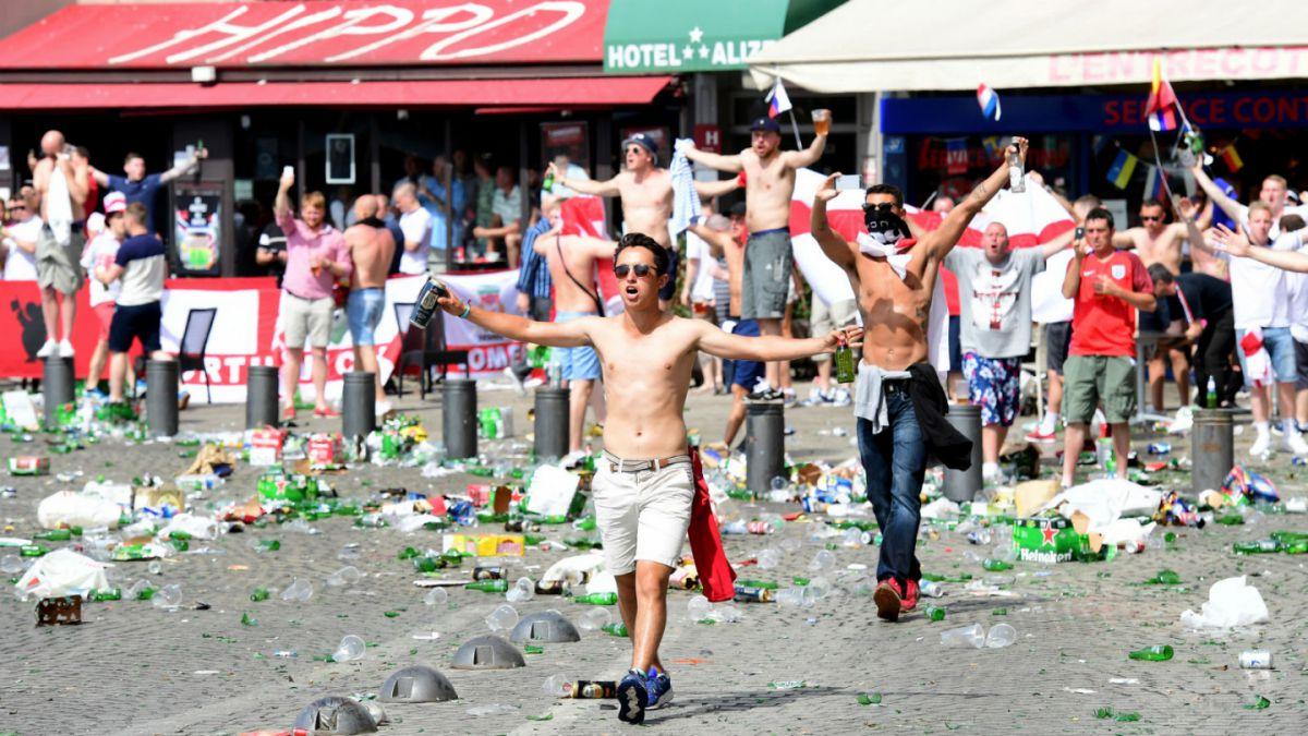 No es historia nueva: Marsella ya sufrió con hooligans ingleses en el Mundial de 1998