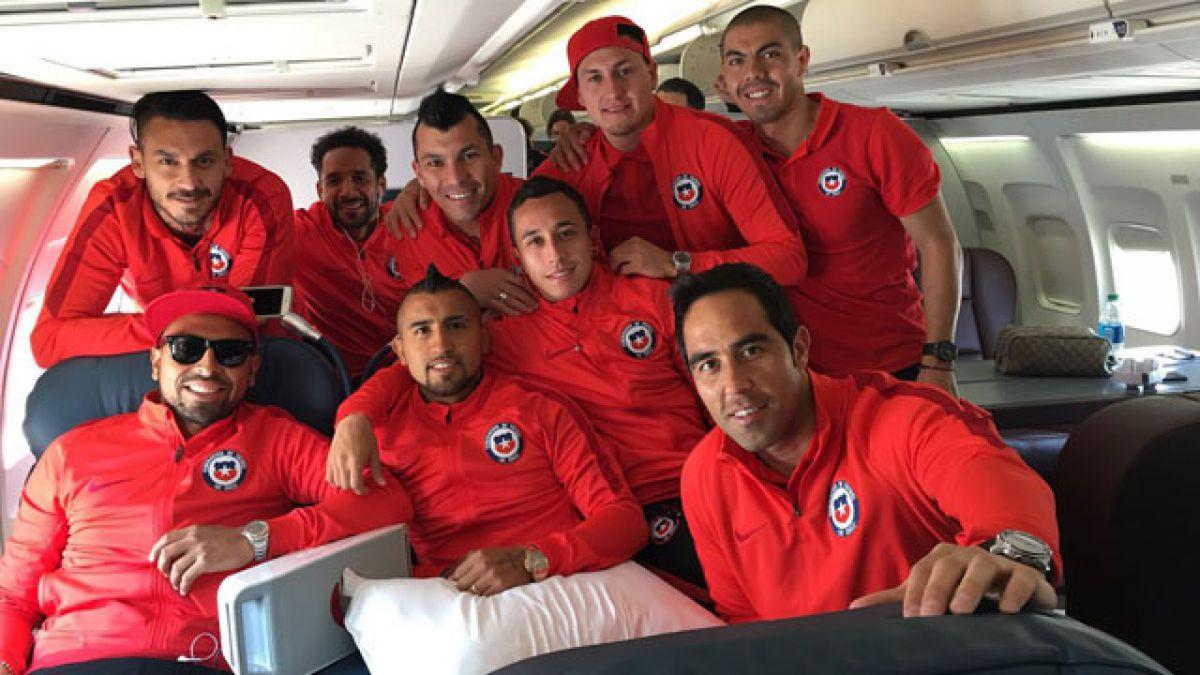 La selección chilena ya está en Filadelfia para decisivo duelo ante Panamá