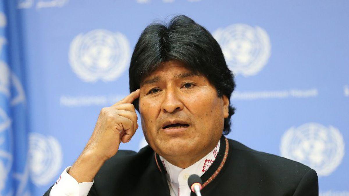 Evo Morales asegura que a Bolivia le robaron el empate ante Chile