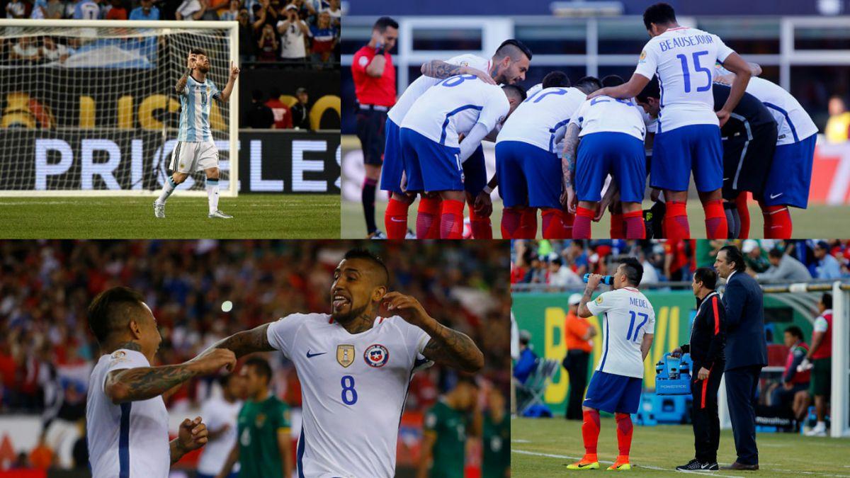 Los rankings que deja hasta ahora la Copa América Centenario 2016