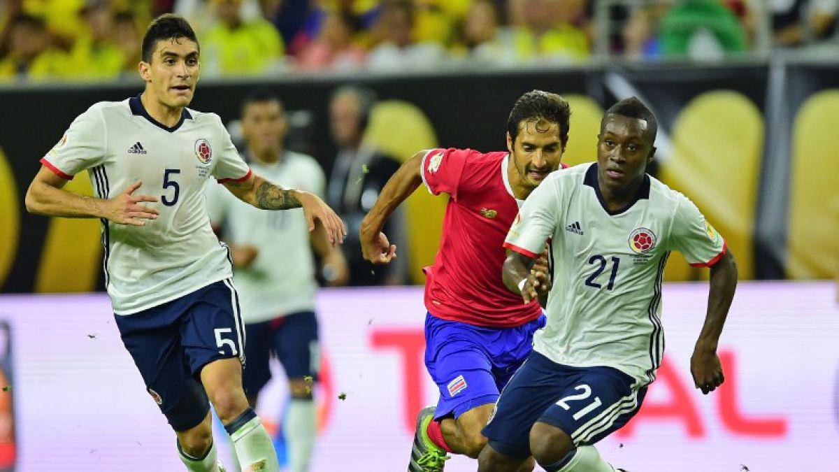 Colombia cae ante Costa Rica y clasifica segundo de su grupo en la Copa Centenario