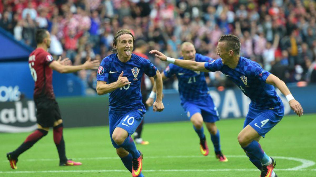 Golazo de Luka Modric le da victoria a Croacia sobre Turquía