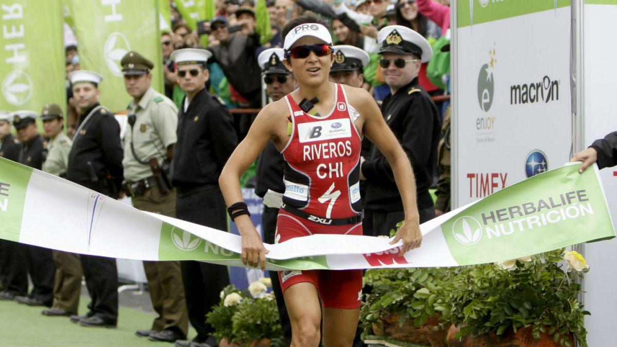Preparación para Río 2016: Bárbara Riveros termina quinta en Triatlón de Leeds