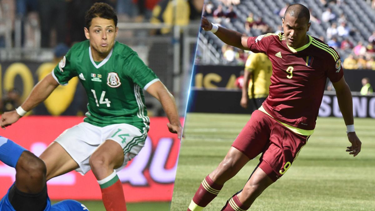 México y Venezuela disputan el primer lugar del Grupo C de la Copa América Centenario